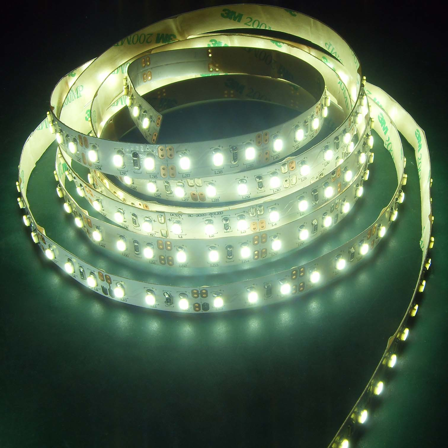 china 3020 smd flexible led strip light zj fs 3020. Black Bedroom Furniture Sets. Home Design Ideas