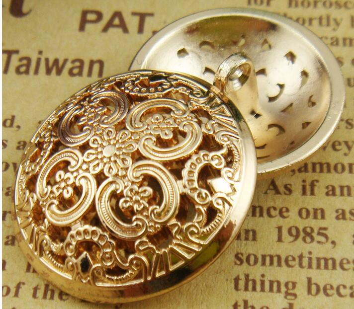 OEM ODM Logo Fashion Clothing Garment Accessories Metal Button