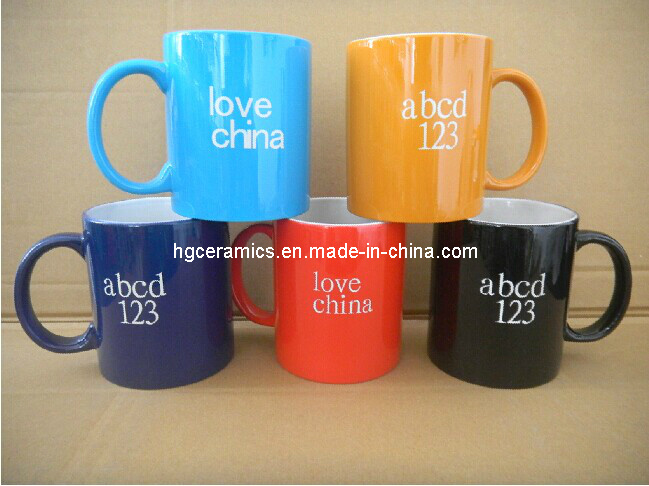 Color Coating Laser Engraved Mug