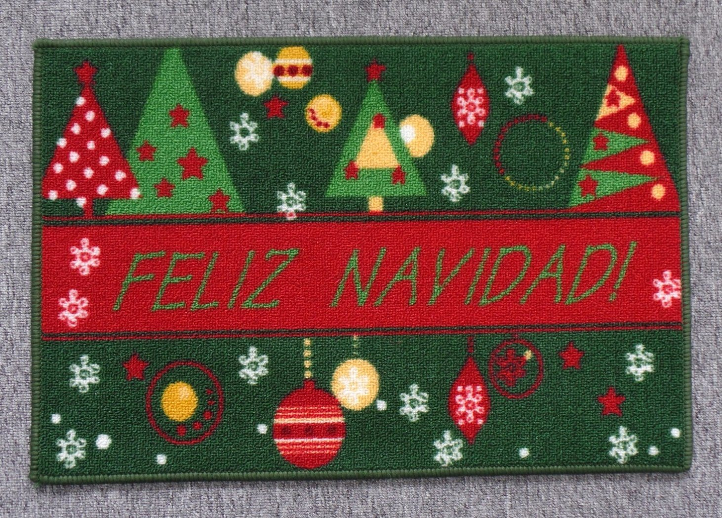 Nylon Rugs, with Christmas Patterns, #2
