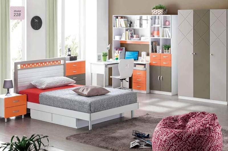 kids youth bedroom furniture new model 228 china home furniture