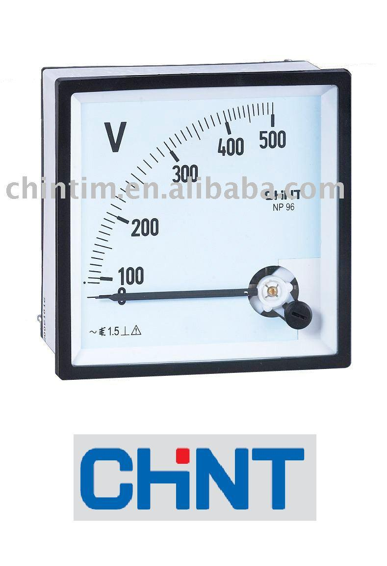 Analog Panel Meter : China analog mounted panel meter