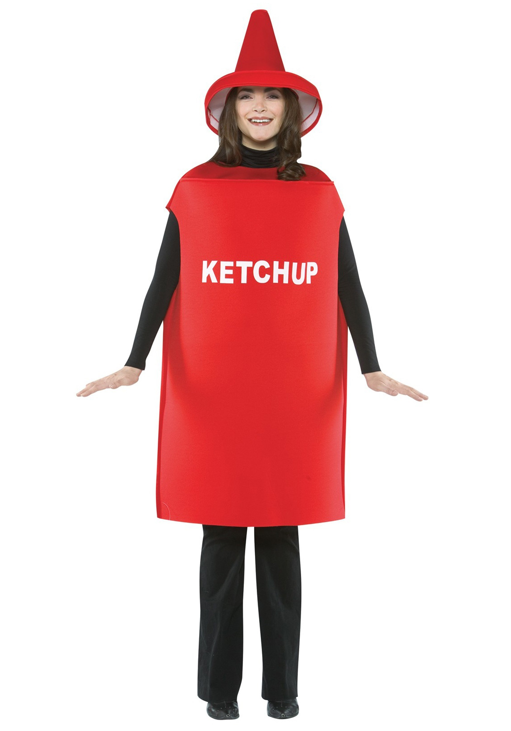 Promo Adult Ketchup & Mustard Classica Couples Costume (CPGC7004X)