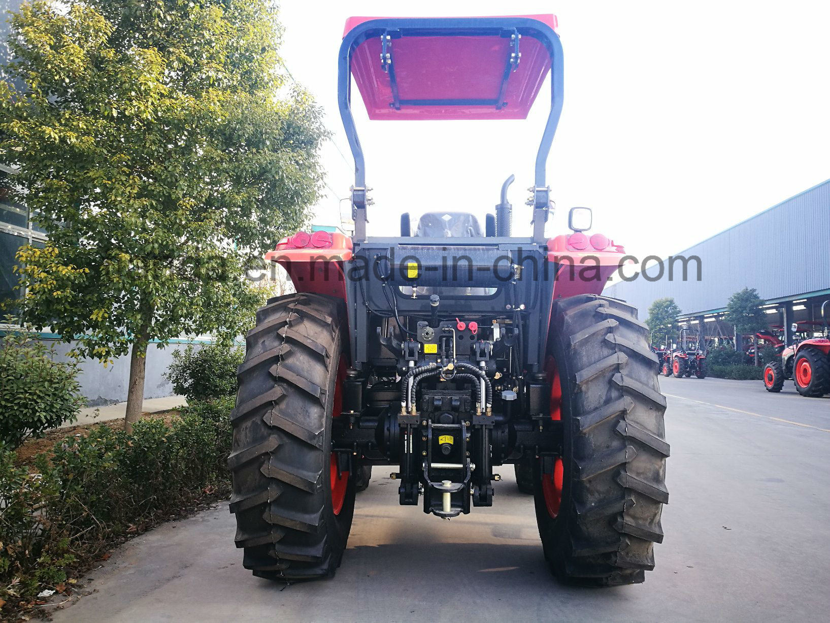 New Wheel 90HP Tractor with Diesel Engine of Kubota Type (OX904)