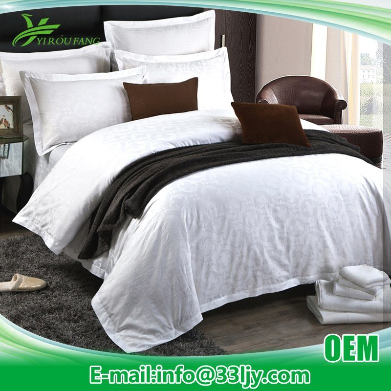 Professional Luxury 1000 Thread Count Duvet Sets with Jacquard