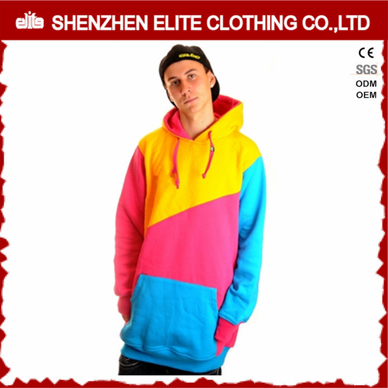 Men Custom Pullover Cheap Kangaroo Blank Hoodies with No Labels