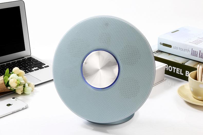 Daniu 2.1CH HiFi Wireless Fabric Bluetooth Speaker Private Model Desktop Speaker Ds-7612