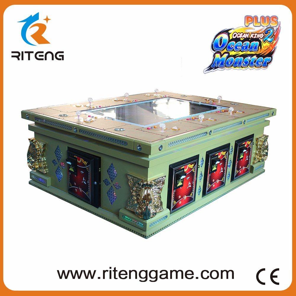 Fish Hunter Bill Acceptor Arcade Video Fishing Game Machine