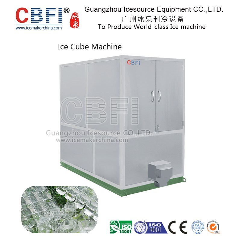 Daily Capacity 1 Ton Ice Cube Machine