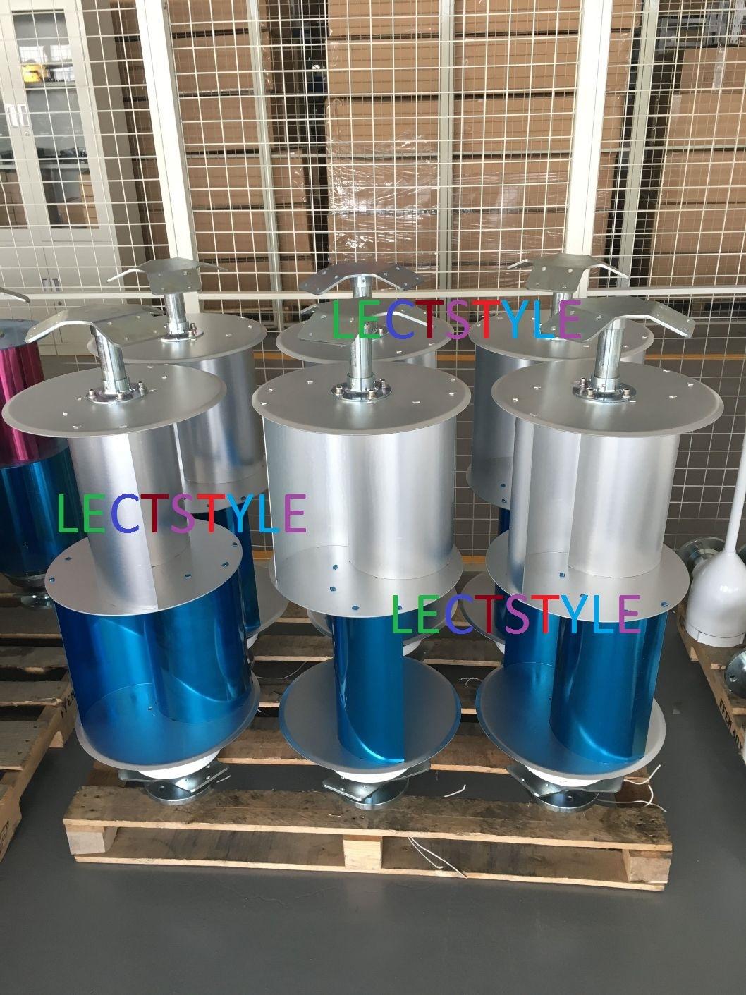 12V 24V 200W Vertical Axis Wind Turbine / Wind Generator