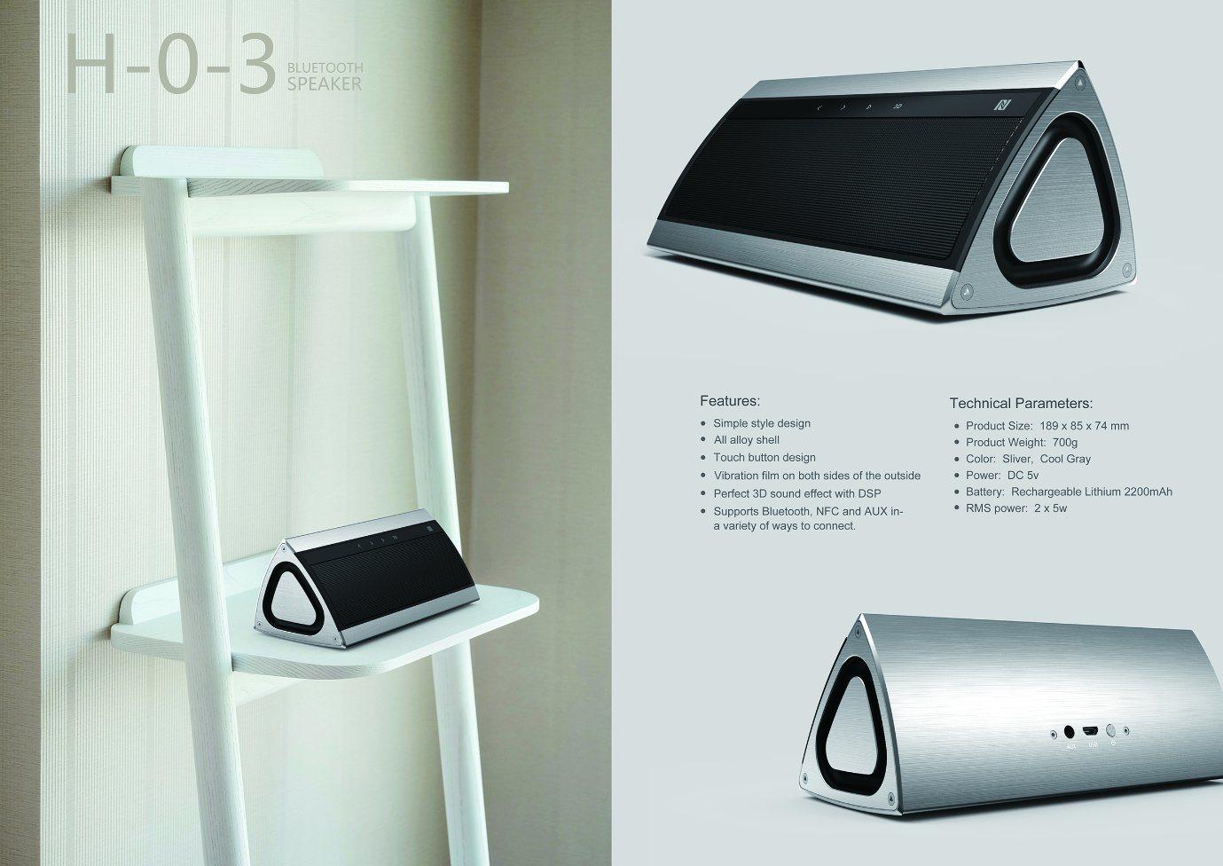Professional Multimedia Mini Portable Bluetooth Wireless Speaker