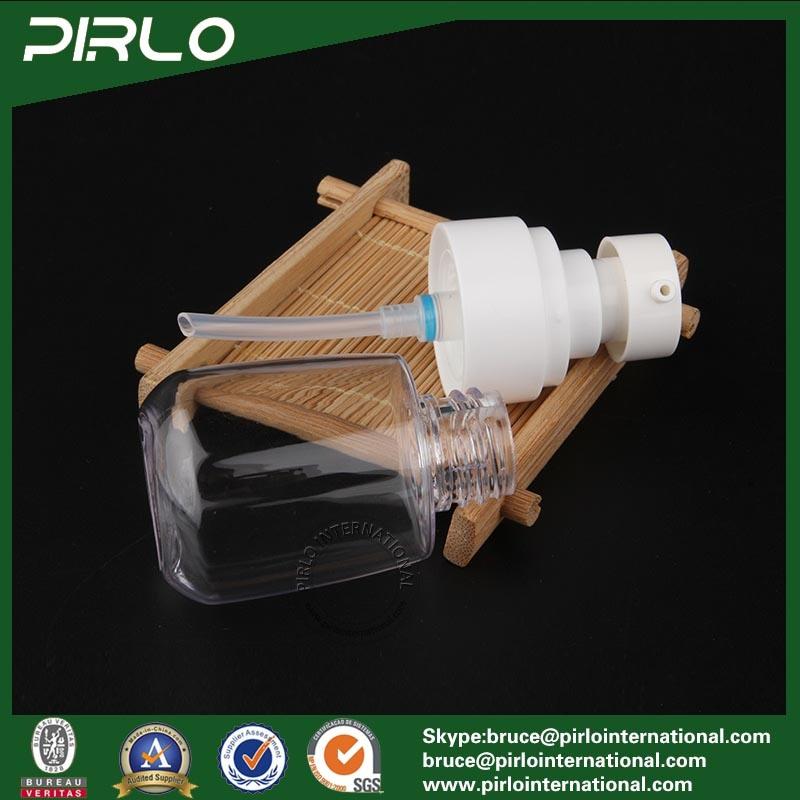30ml 1oz Round Shape Plastic Pump Spray Bottle Empty Refillable Travel Use Lotion Bottle Essential Oil Pump Spray Bottle