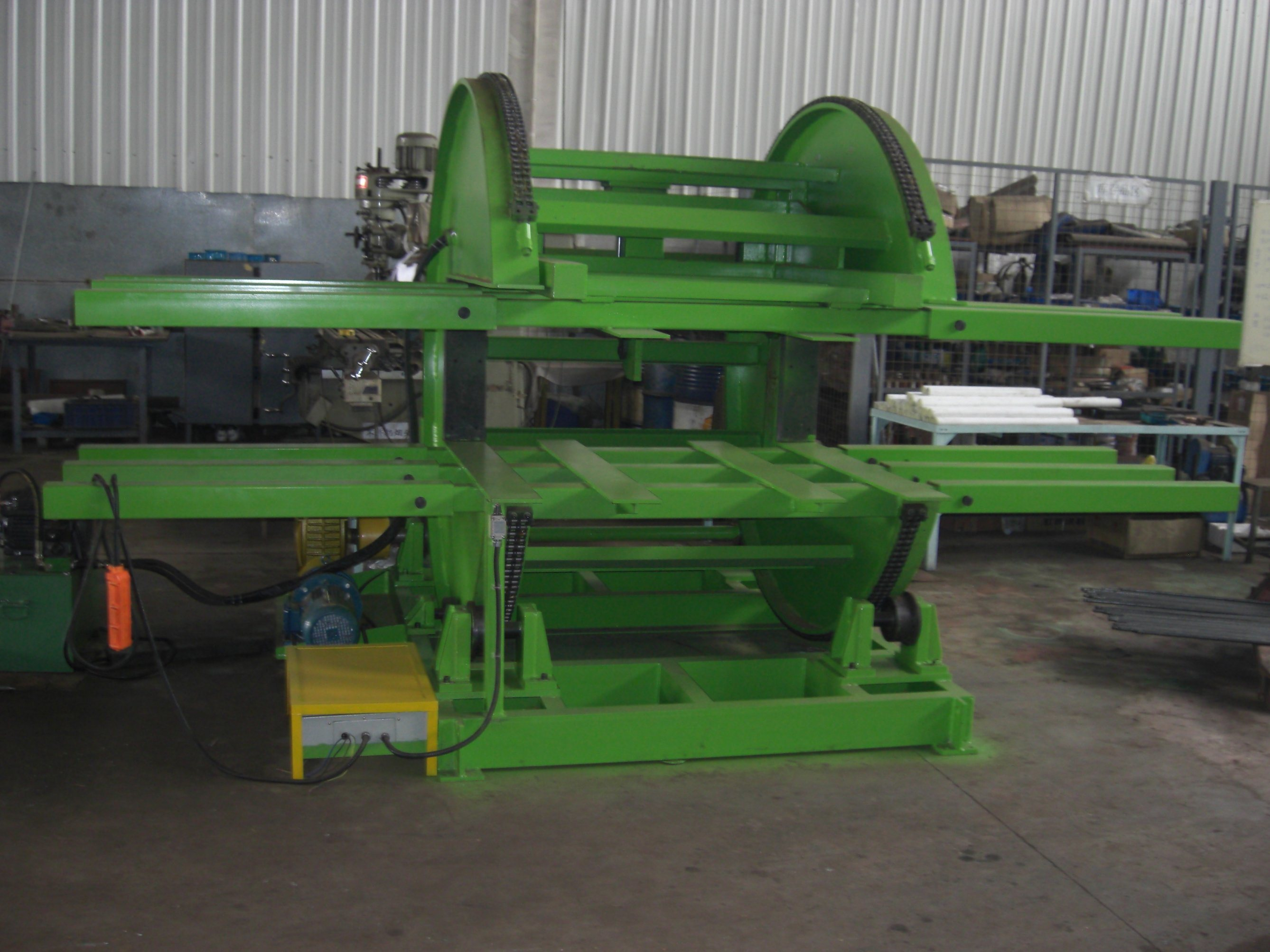Hydraulic Pallet Tumbler (Plate Turnover Machine)
