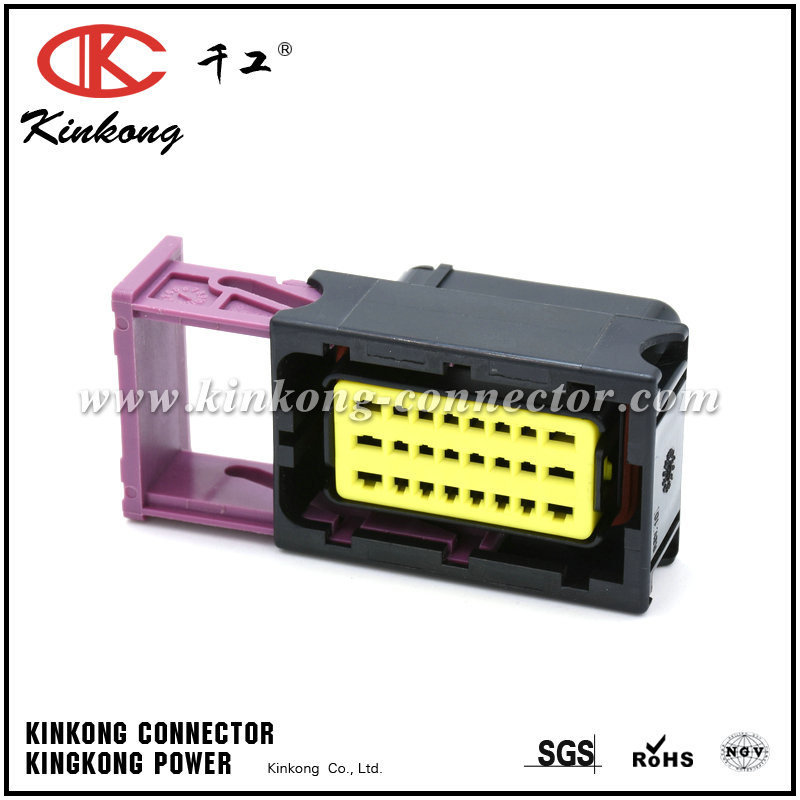 24 Pin Female Waterproof Motorcycle ECU/Wiring Automotive Connector