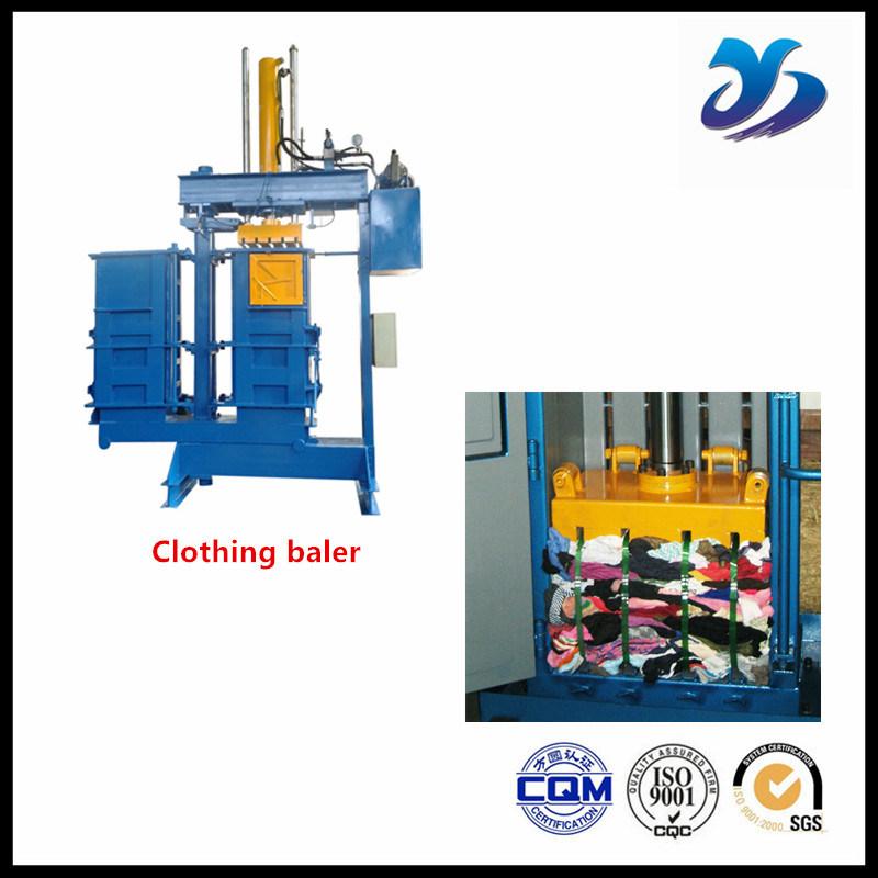 Industrial Use Mini Hydraulic Clothing Baler/Baling Machine for Cardboard