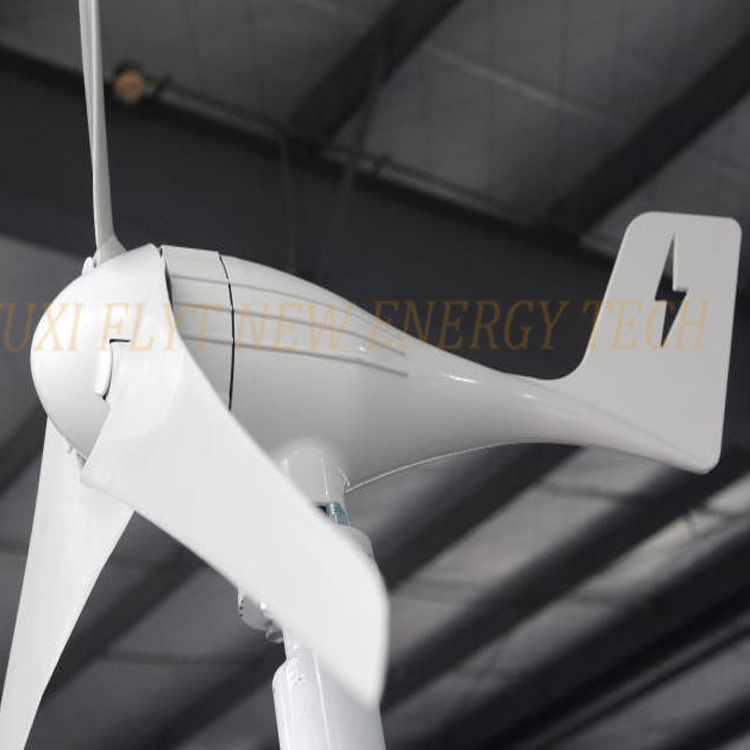 Horizontal Wind Generator 300W 12V 24V with Charge Controller and 1000W Inverter