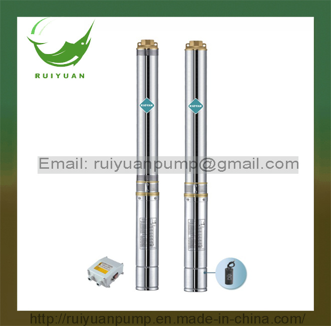 4 Inches 4kw 5.5HP High Quality Cheap Price Copper Wire Stainless Steels Deep Well Submersible Pump Water Bomba (4SD2-62/4kW)