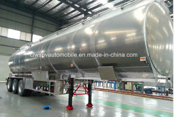 55000L Aluminum Alloy Tanker Trailer 50 Tons Fuel Tanker Trailer Price