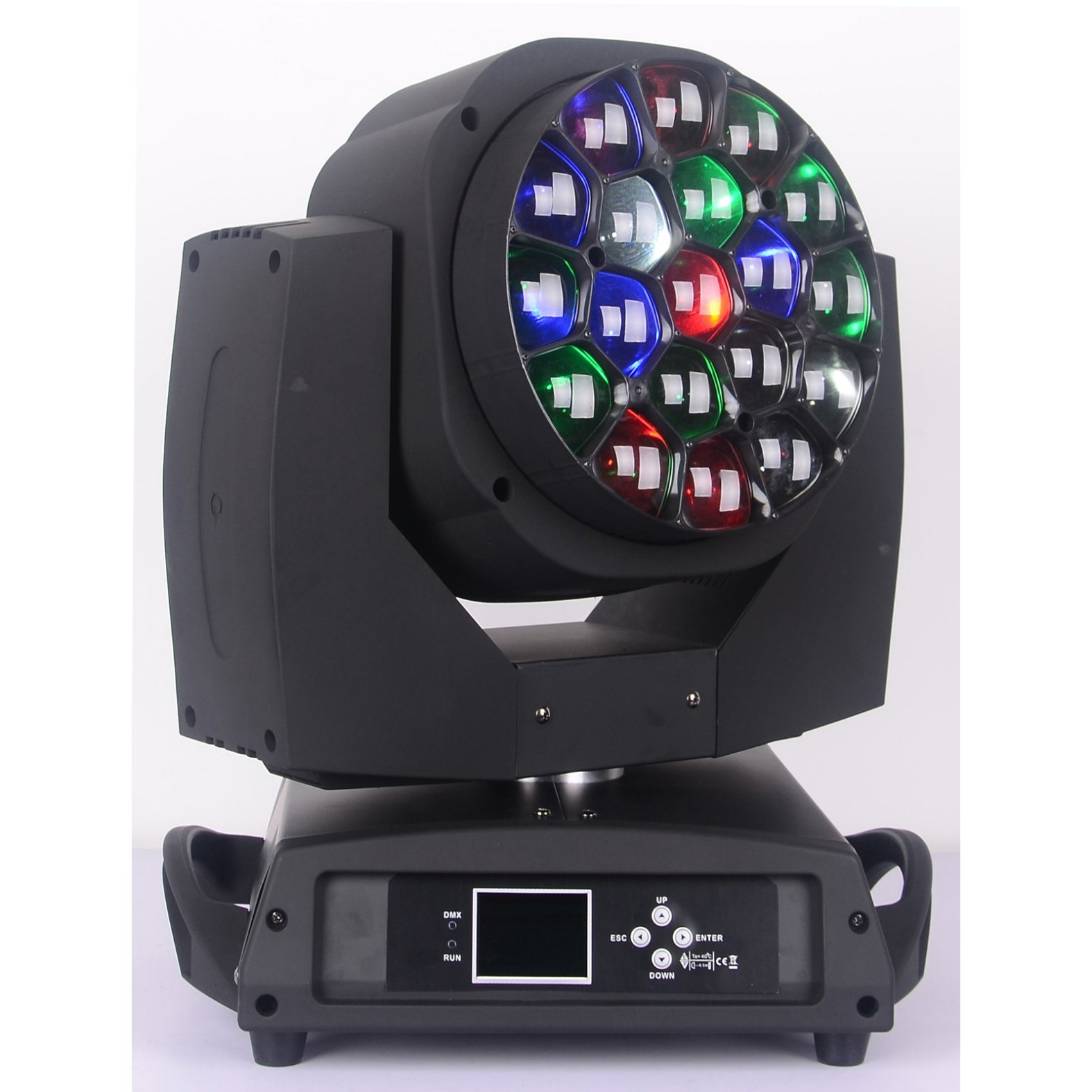 Big Eye 19X15W RGBW LED Moving Head Light with Zoom Beam Wash Effect