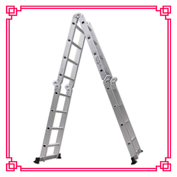 Multi-Purpose Folding Ladder/Stairway Extension Ladder