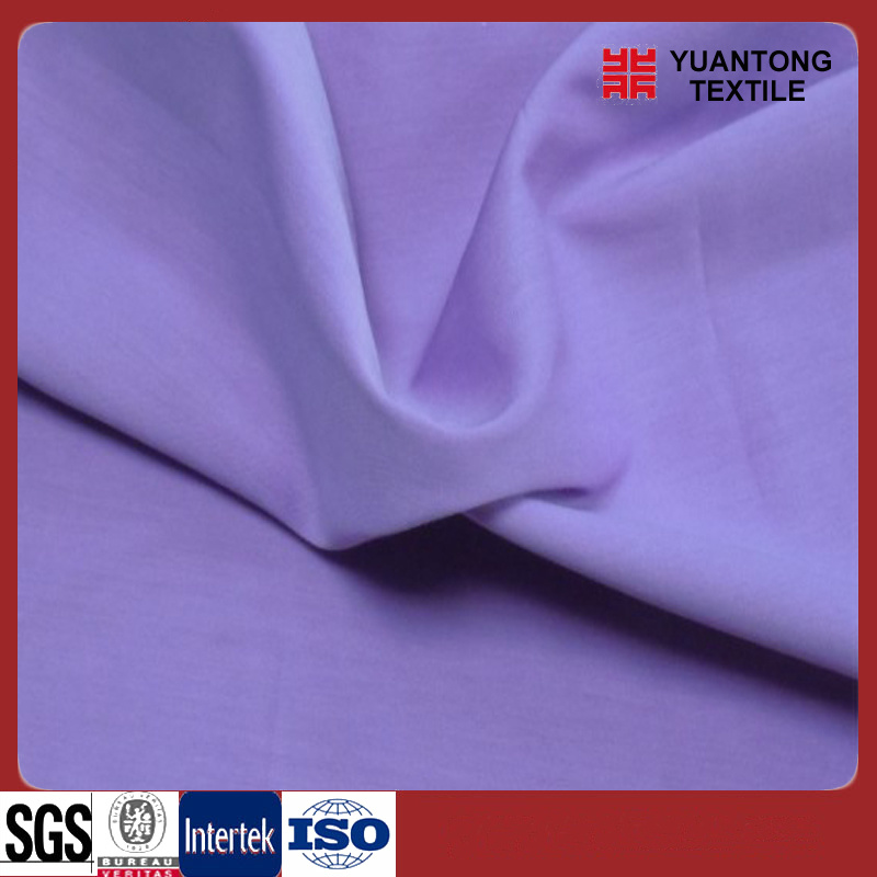 CVC 60/40 Solid Dyed Poplin Fabric for Shirt