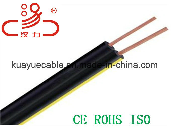 Drop Wire 1X2X0.5cu+Steel Wire Telephone Cable/Computer Cable/ Data Cable/ Communication Cable/ Connector/ Audio Cable