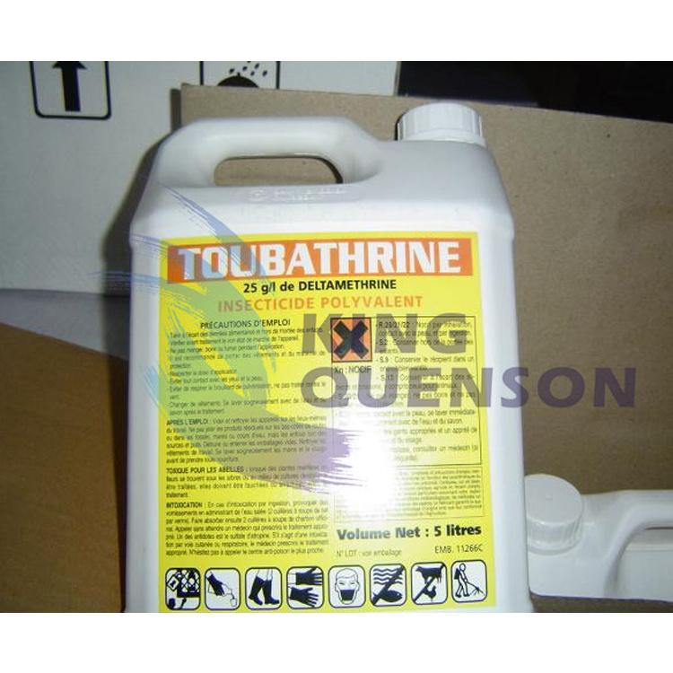 King Quenson Chemical Pesticide Deltamethrin 98% Tc (25 g/L EC, 2.5% WP)