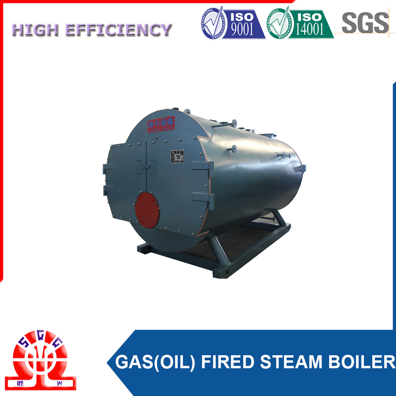 Automatic Oil Fired Steam Generator with PLC Control System