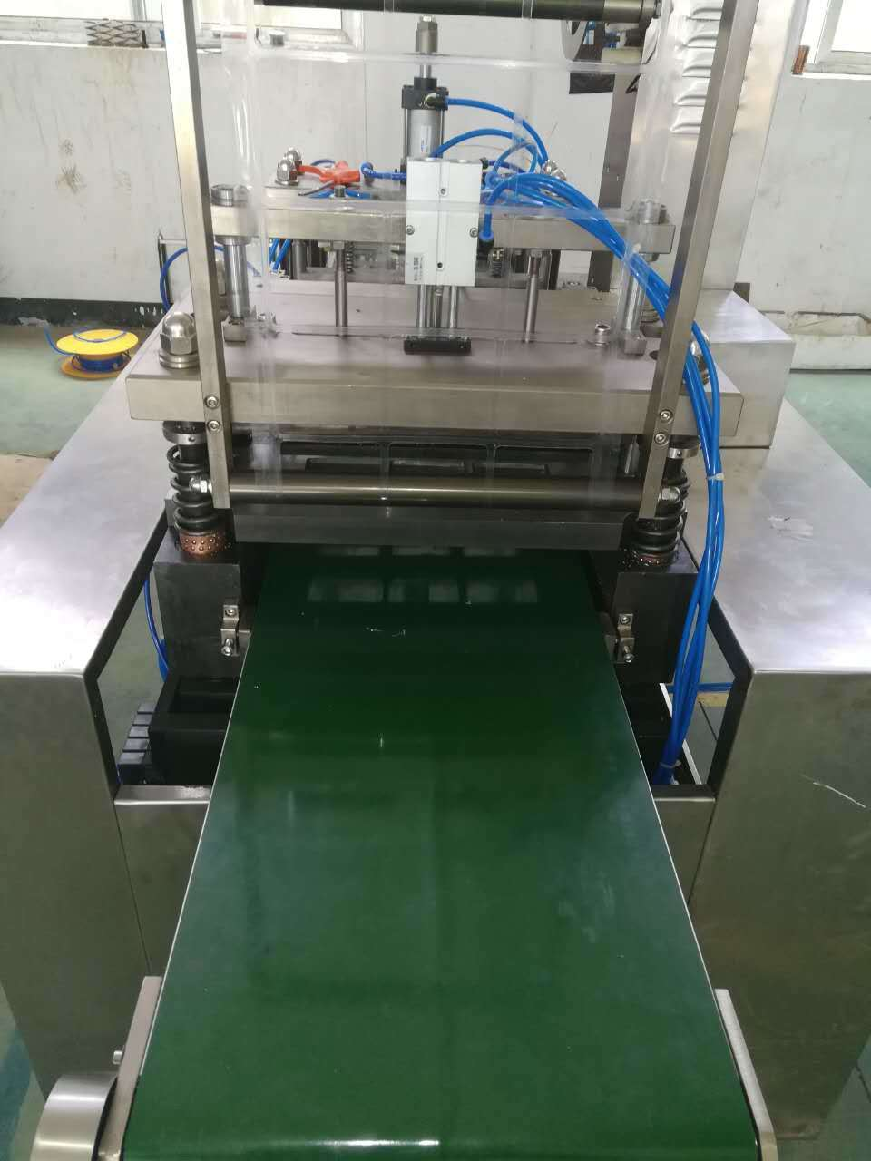 Disposable Razor Papercard PVC Blsiter Packing Machine