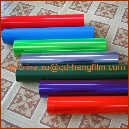 Shrink Film Type and Rigid Hardness PVC Packing Film