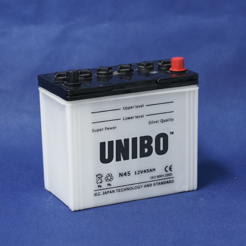 Storage Battery JIS Standard Dry Charged N45 12V45ah Auto Battery