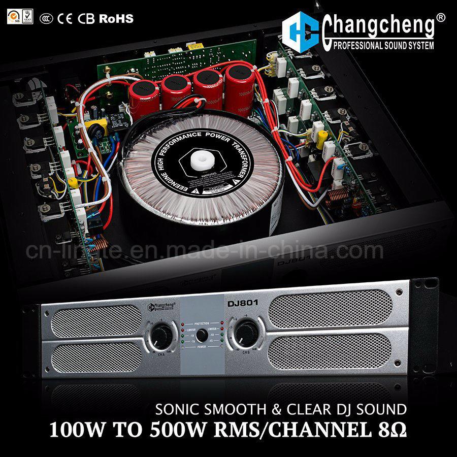 DJ801 Series Class Ab Professonal Power Amplifier