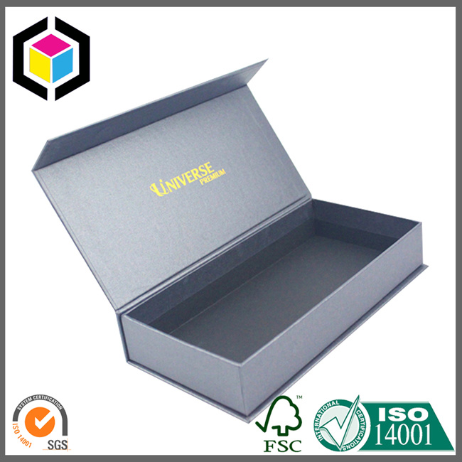 OEM/ODM Rectangle Rigid Cardboard Gift Box with Magnet