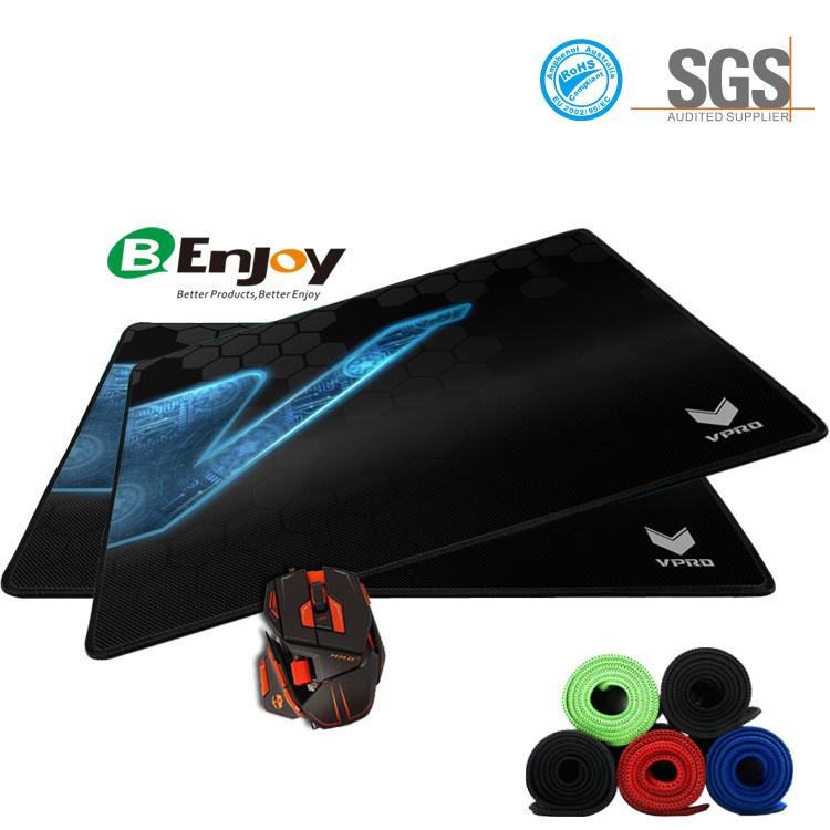 Custom Design Anti-Fray Cloth Gaming Mouse Pad