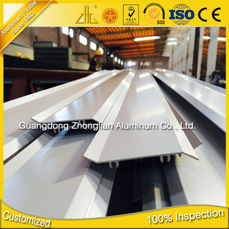 Factory Suppy OEM Aluminium Shutter Frame Profile Aluminum Shutter Window