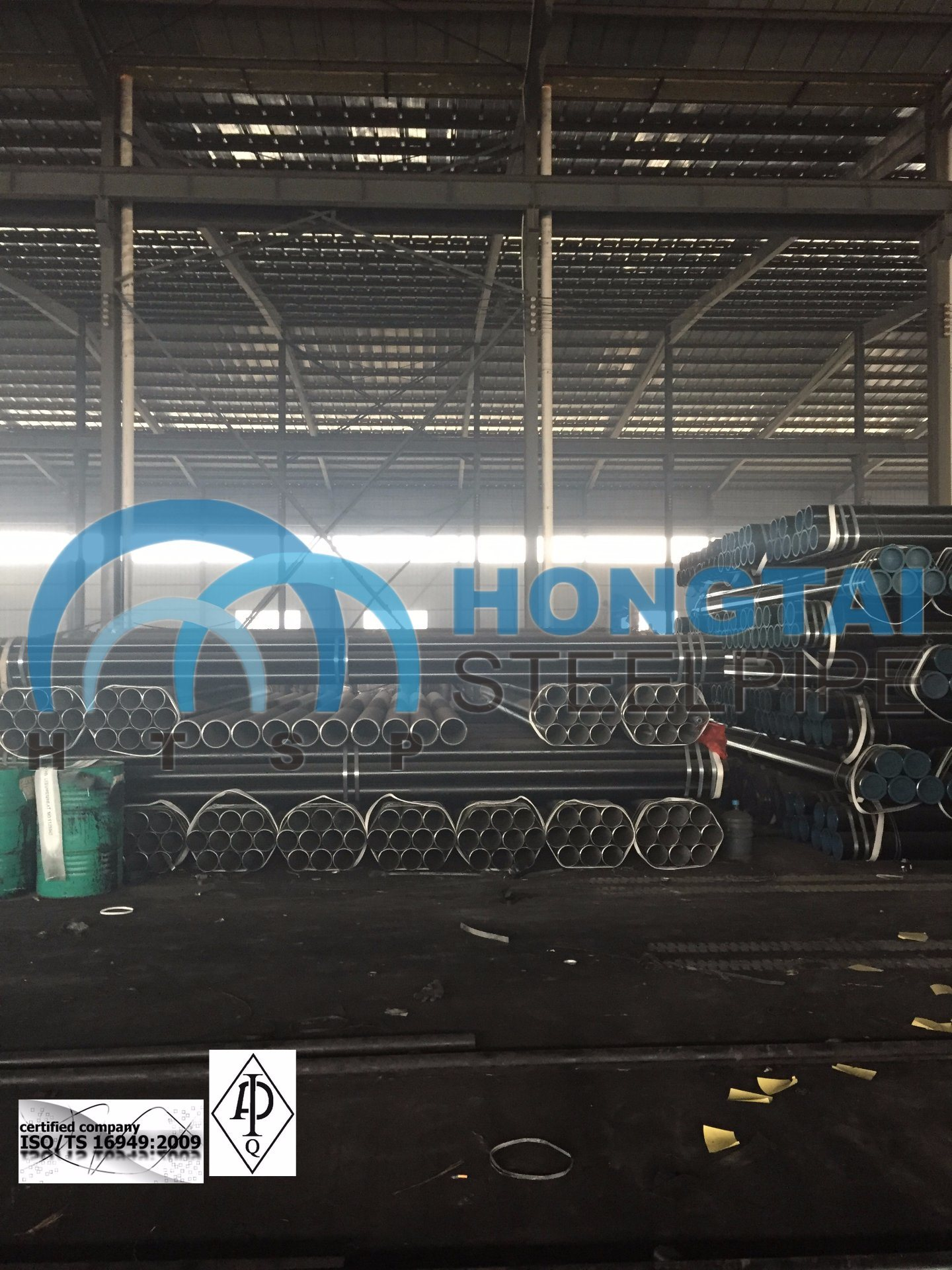 Lowest Price Hot Rolled ASTM A53 Gr B Seamless Steel Pipe with API Certificate