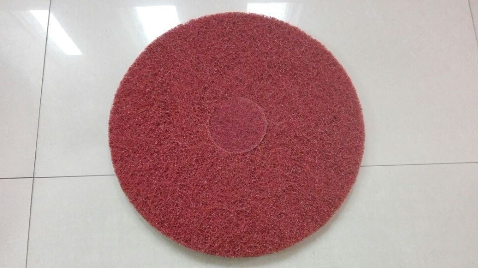 High Quality Red Waxing Floor Pads