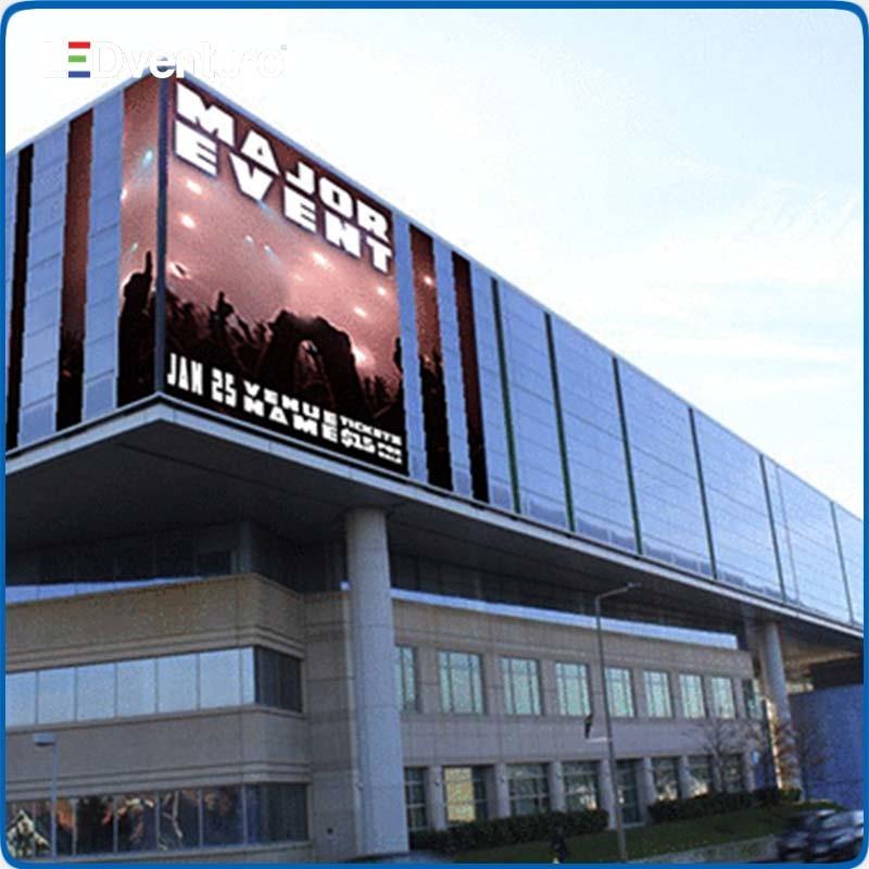 P8 Publicidad Outdoor La Pantalla LED Gigante Servicio Fronte