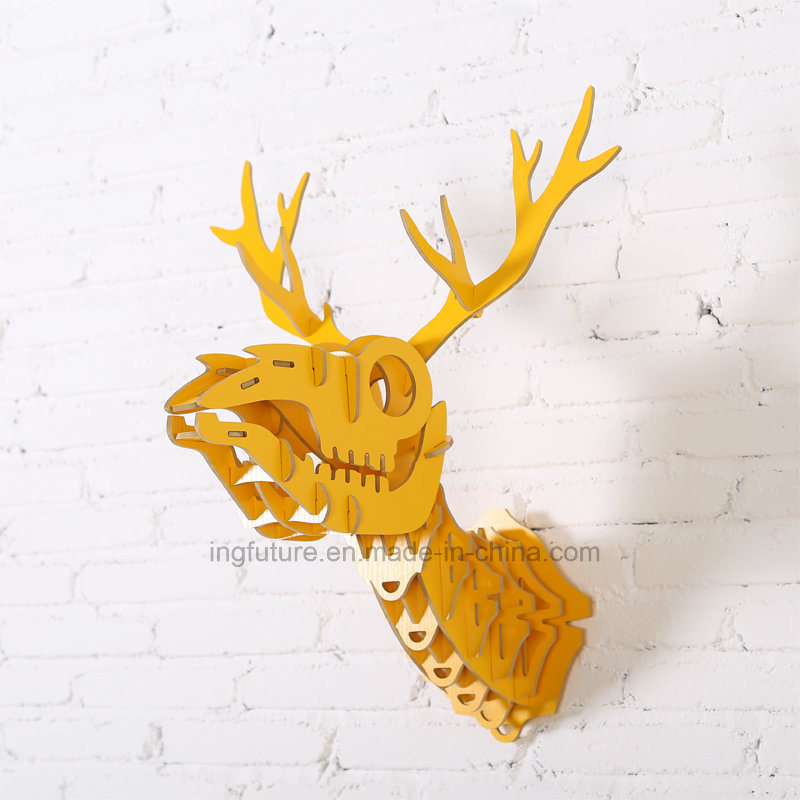 New Simple Creative Wall Decoration Hanging Wooden Arts and Crafts