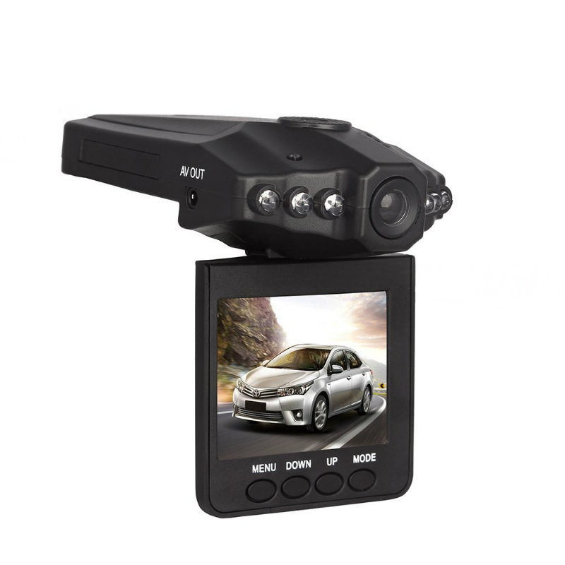 2.4 Inch LCD Portable DVR Rotatable Car Camera