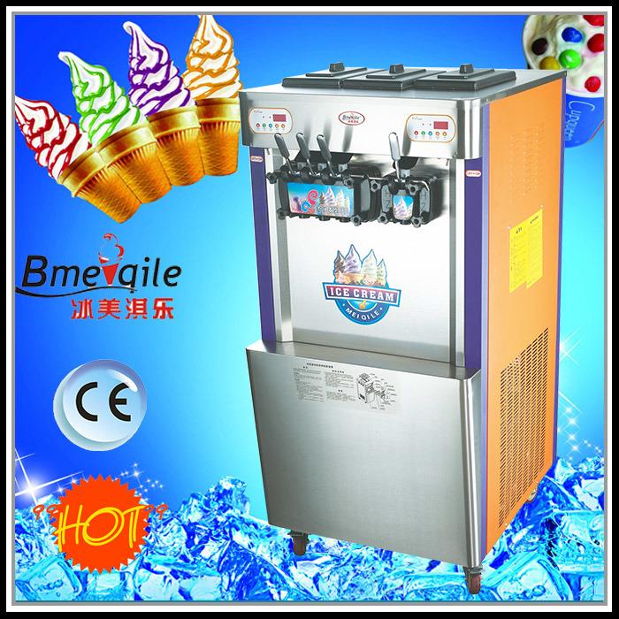 Four Flavours Soft Ice Cream Machine Frozen Yogurt Machine