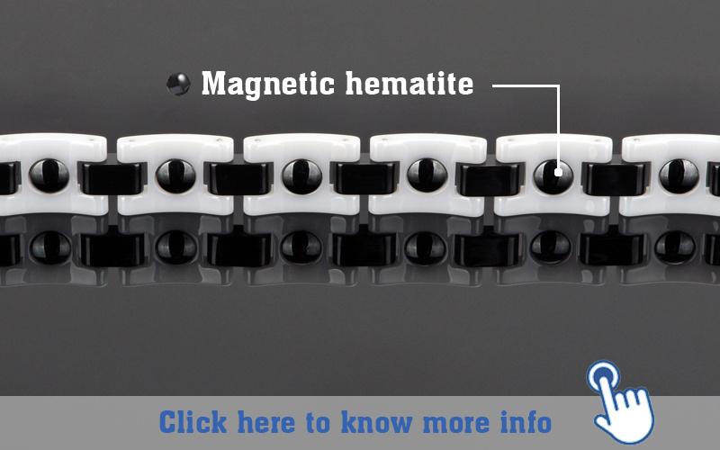 Hottime Fashion Jewelry for Trendy with Hematite Beads (10067)