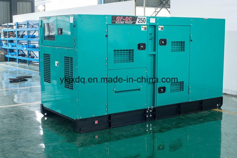 Silent Denyo Type 250kVA Diesel Power Generator with Cummins Engine