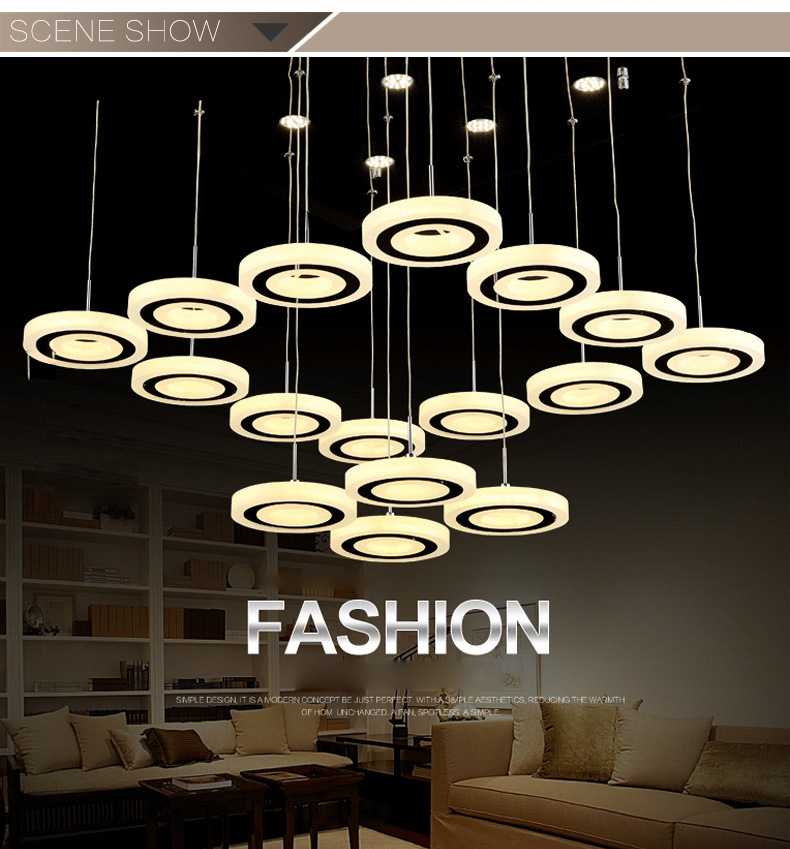 Popular Factory Price Modern LED Pendant Light with Ce RoHS