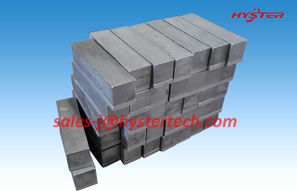 63HRC Bi-Metallic Cast Iron Replaceable Wear Bars for Bucket Abrasion