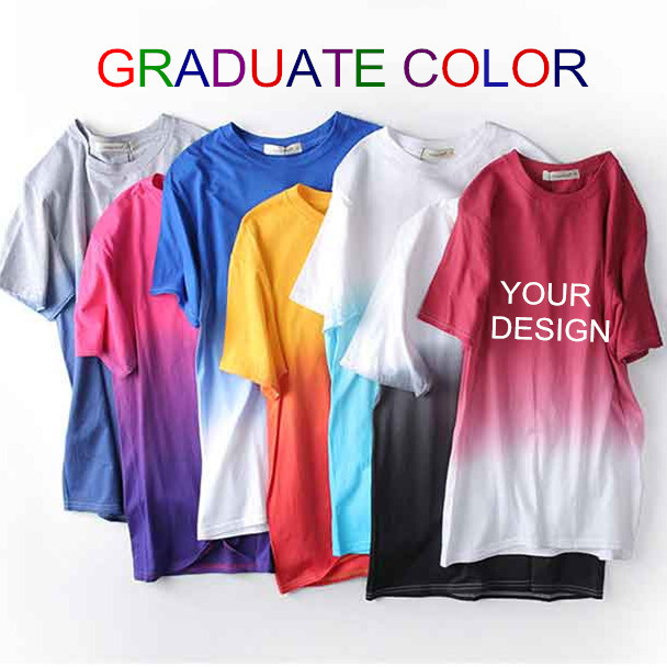 Custom Quality Cotton Screen Printing Polo T Shirt for Men of Round Neck