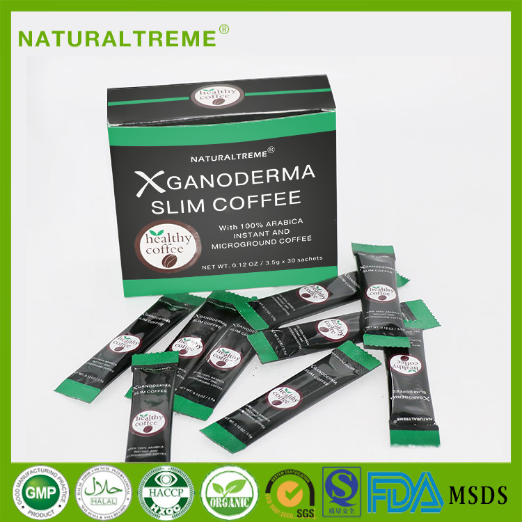 Health Food Ganoderma Lucidum Slimming Coffee Thailand