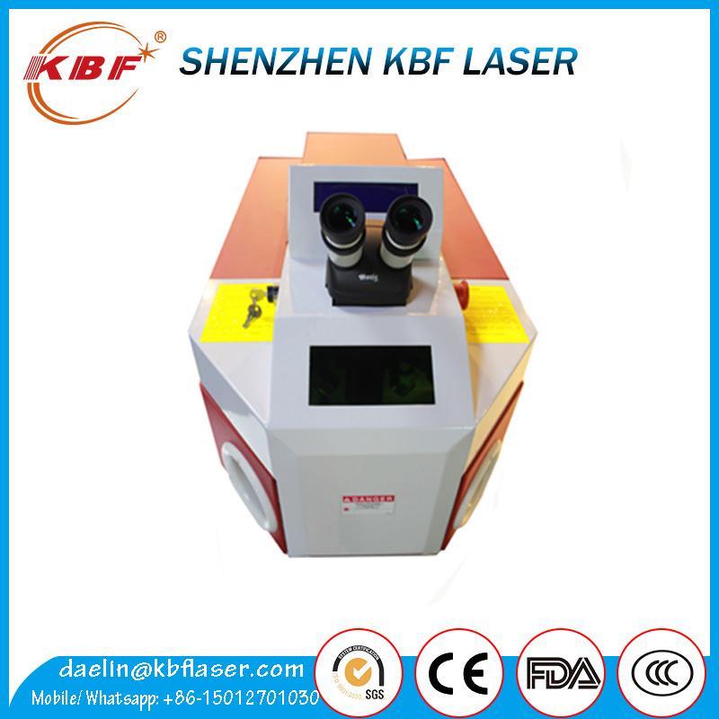 Portable 60W/100W Gold/Silver Laser Spot Welding Machine
