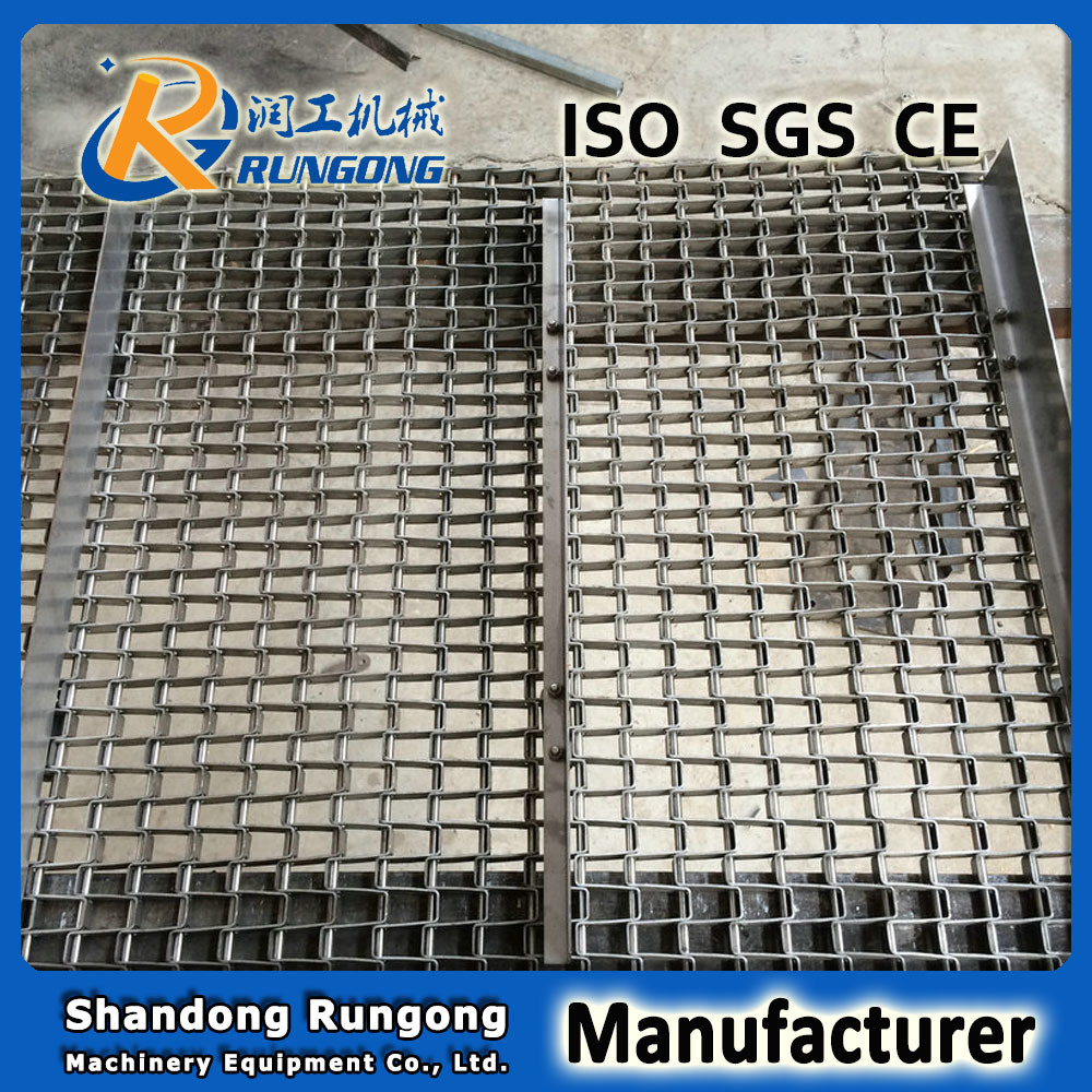 Best Quality Stainless Steel Horseshoe Wire Mesh Conveyor Belt