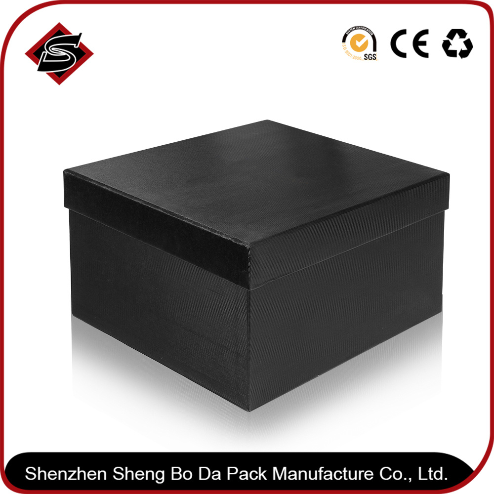 Custom Hot Stamping Gift Box Paper Jewelry Cardboard Packaging